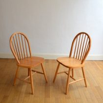 Chaises type Ercol vintage 5
