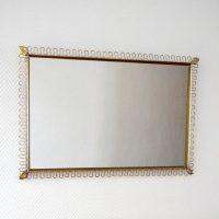 Miroir rectangulaire Josef Frank 1950s vintage 6