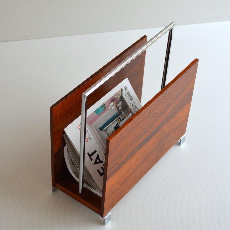 porte revues scandinave 1960s. Black Bedroom Furniture Sets. Home Design Ideas