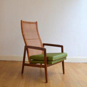 Fauteuil lounge par P.J.Muntendam pour Gebr. Jonkers 1950s vintage 34