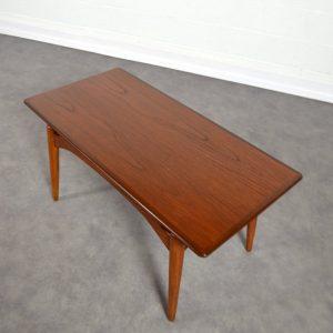 Table basse Louis van teeffelen vintage 12