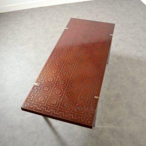 Table basse design années 60 : 70 vintage 18