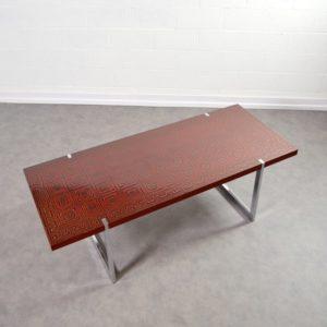 Table basse design années 60 : 70 vintage 6