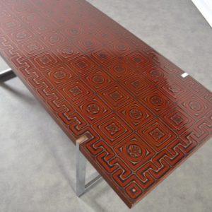 Table basse design années 60 : 70 vintage 8