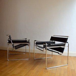 Paire de fauteuils Wassily années 70 : 80 vintage 6