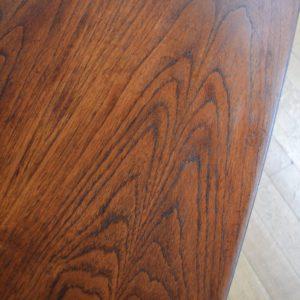 Table basse scandinave palissandre vintage 18