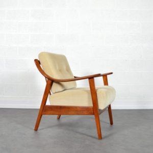 Fauteuil Knoll antimott 1960s vintage 3