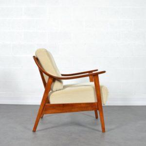 Fauteuil Knoll antimott 1960s vintage 6