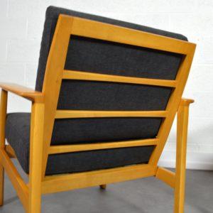 Paire de fauteuils scandinave 1960 vintage 19