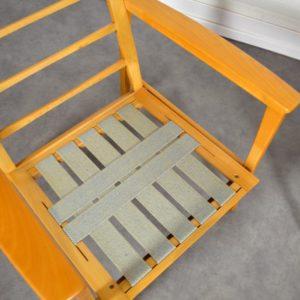 Paire de fauteuils scandinave 1960 vintage 22