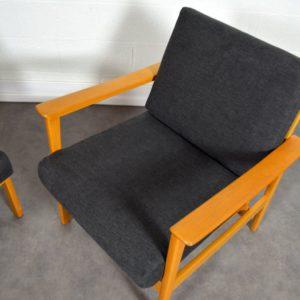 Paire de fauteuils scandinave 1960 vintage 7