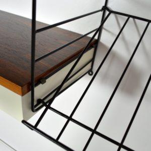 étagères modulable : bibliothèque String 1960 vintage 15