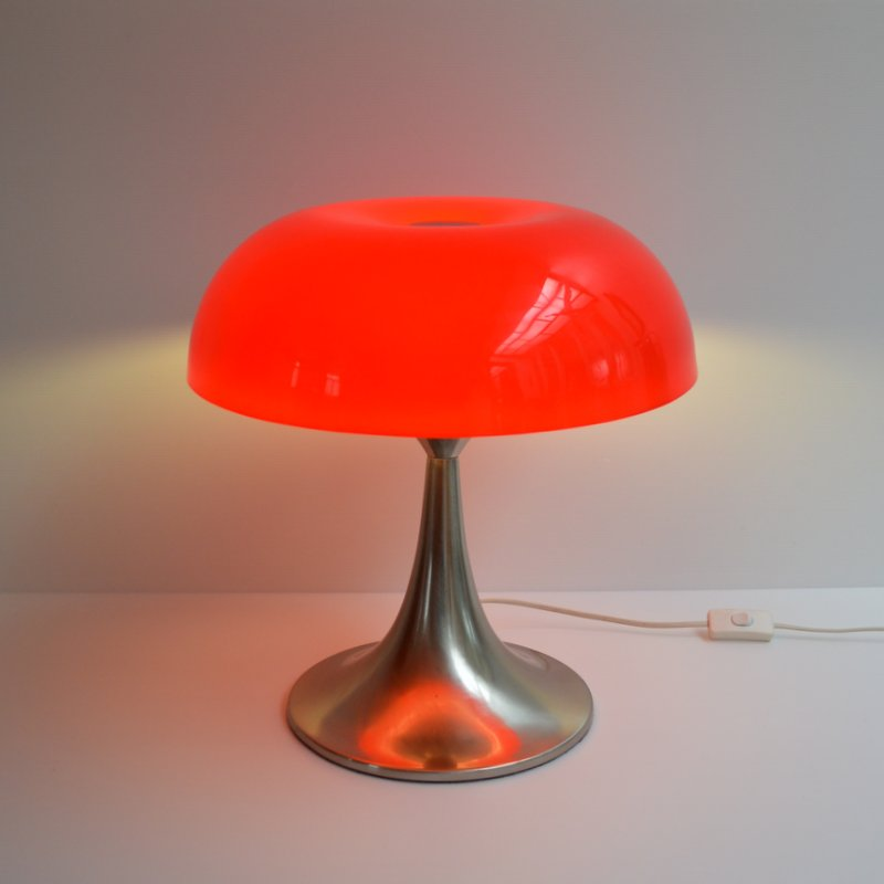lampe de table champignon design 1970s. Black Bedroom Furniture Sets. Home Design Ideas