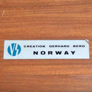 Enfilade Scandinave Teck Par GERHARD BERG 1960 vintage 19