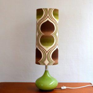 Lampe d'ambiance 1970 vintage Doria 14