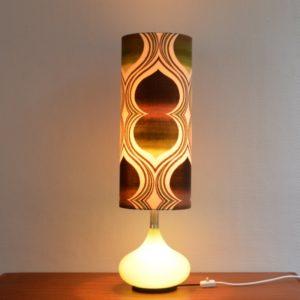 Lampe d'ambiance 1970 vintage Doria 18