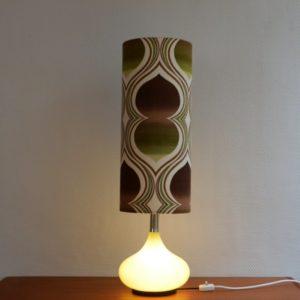 Lampe d'ambiance 1970 vintage Doria 19