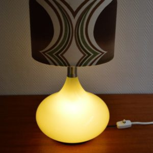Lampe d'ambiance 1970 vintage Doria 20