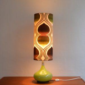 Lampe d'ambiance 1970 vintage Doria 21
