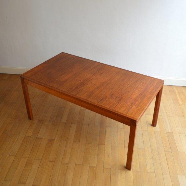 Table à manger Scandinave Teck Par GERHARD BERG 1960s