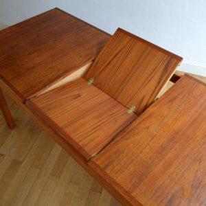 Table à manger scandinave Gerhard Berg 1960 vintage 42