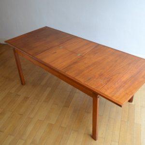Table à manger scandinave Gerhard Berg 1960 vintage 43