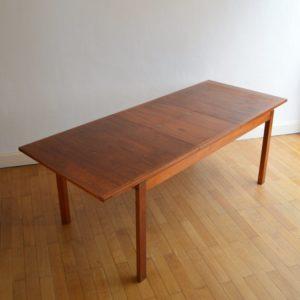 Table à manger scandinave Gerhard Berg 1960 vintage 52