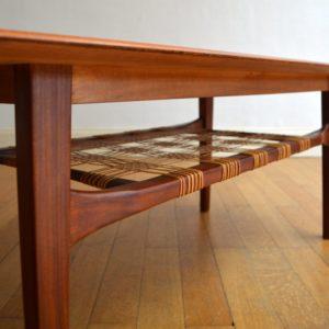 Table de salon scandinave 1960 vintage 14