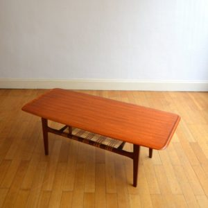 Table de salon scandinave 1960 vintage 4