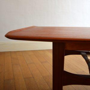 Table de salon scandinave 1960 vintage 9