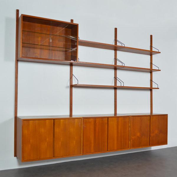 Système d'étagères modulables – Bibliothèque Poul Cadovius 1960s