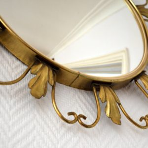 Miroir soleil oeil de sorcière 1950 vintage 6