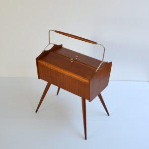 boite à couure : travailleuse 1950 vintage 2