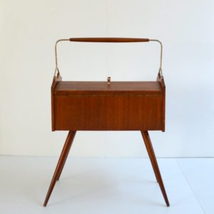 boite à couure : travailleuse 1950 vintage 6
