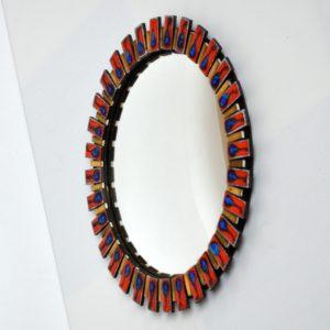 miroir bombé œil de sorcière 1960 vintage 20