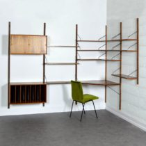 Wall units Cadovius 1960 teck vintage 1