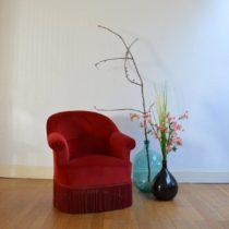 paire de fauteuils crapauds vintage 10