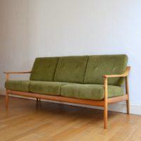 Canapé / Sofa par Wilhelm Knoll vintage 1960s