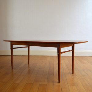 Table basse scandinave 1960 vintage 10