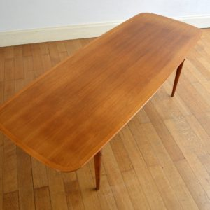 Table basse scandinave 1960 vintage 20