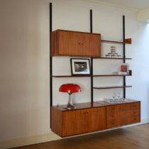 Bibliothèque : Wall units scandinave vintage 7