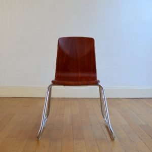 Chaise Pagholz 1960 vintage 4