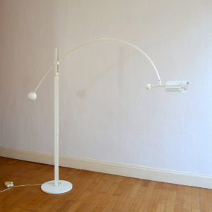 Lampadaire arc type Joe Colombo 1960 : 70 vintage 18
