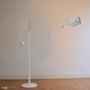 Lampadaire arc type Joe Colombo 1960 : 70 vintage 28