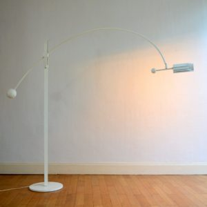 Lampadaire arc type Joe Colombo 1960 : 70 vintage 3