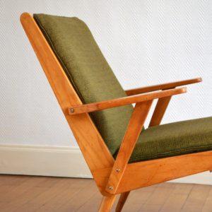 Paire de fauteuils Rob Parry 1960s vintage 35