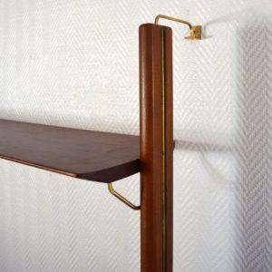 Wall unit : Bibliothèque scandinave Fristho vintage 65