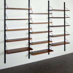 Bibliothèque Royal system Cadovius palissandre 6