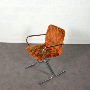 Chaise Tavo vintage orange 4