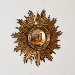 Grand miroir soleil vintage 10